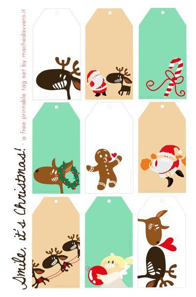 Ma Che Davvero? - il blog: 28anni. mamma. aiuto.: Io, la creatività e i bigliettini di Natale scaricabili :)