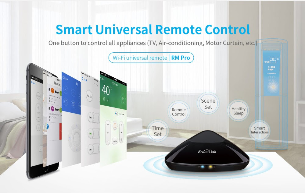 Remote Product: Great Offers Broadlink RM3 RM Pro Smart Home