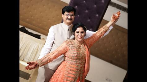 Beautiful Couple Dance by Mom & Dad at Sangeet Ceremony on