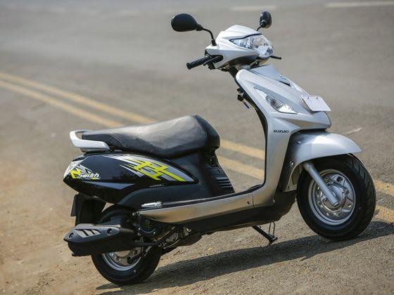 New Suzuki Swish facelift design changes