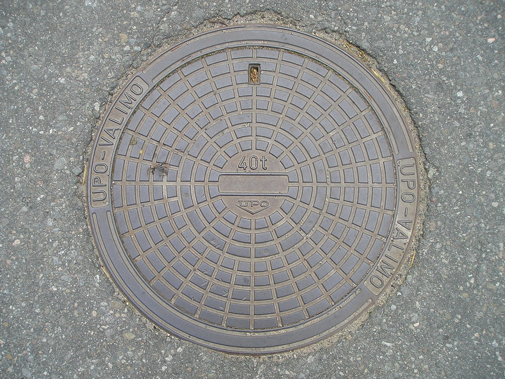 Helsinki Manhole Cover