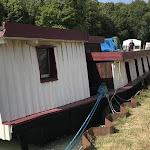 Le bateau La Belle de Champagne sauvée des eaux par les pompiers à Mareuil-sur-Aÿ