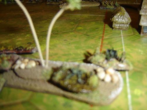 Japanese artillery surveys battlefield - Battle for Middle Village