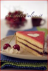 Tart-Cherry Cake