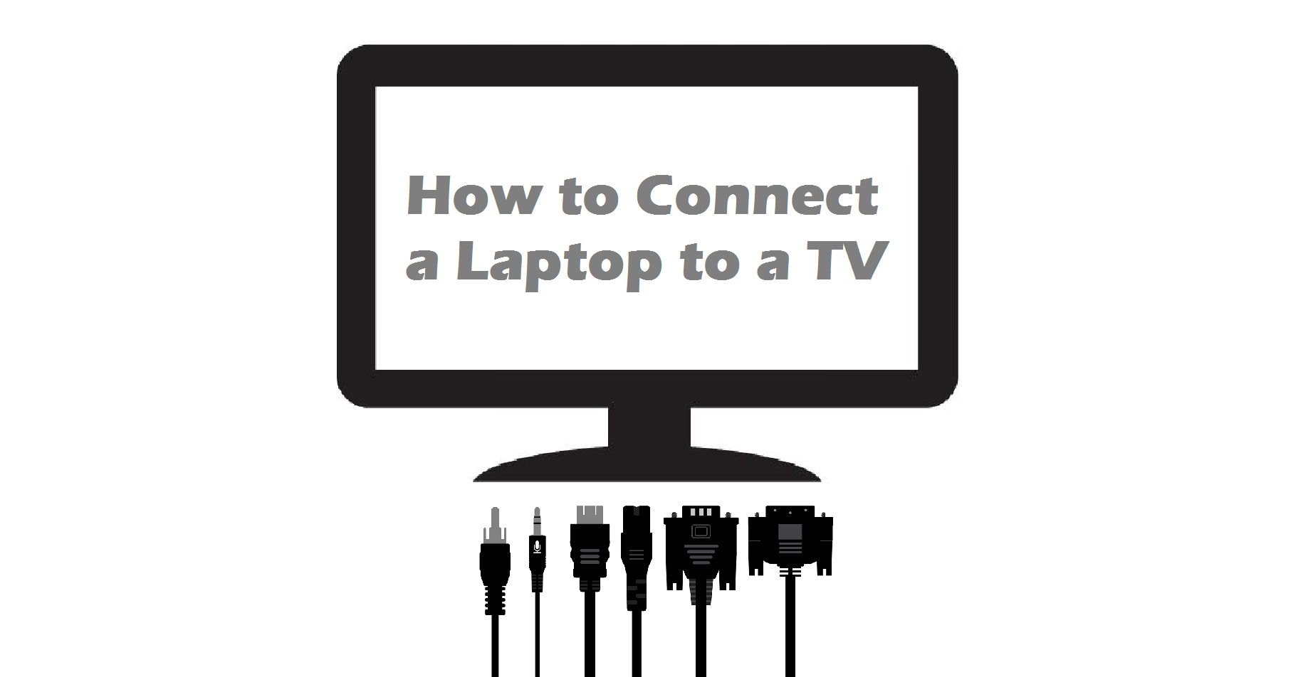 How to Connect a Laptop to a TV - Ebuyer Blog