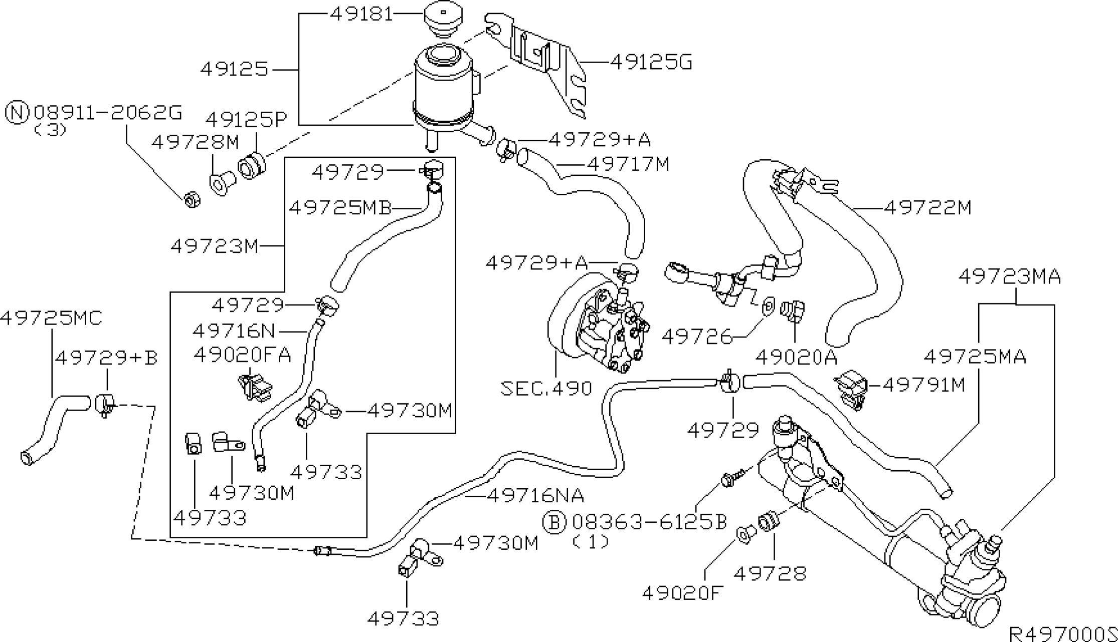 2002 Nissan Altima Belt Diagram