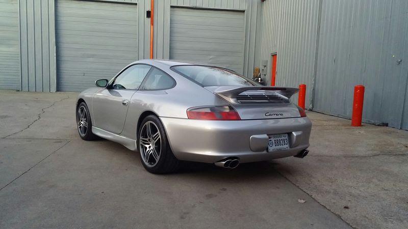 2003 Porsche Carrera W X51 Carrera Power Kit 345 Hp