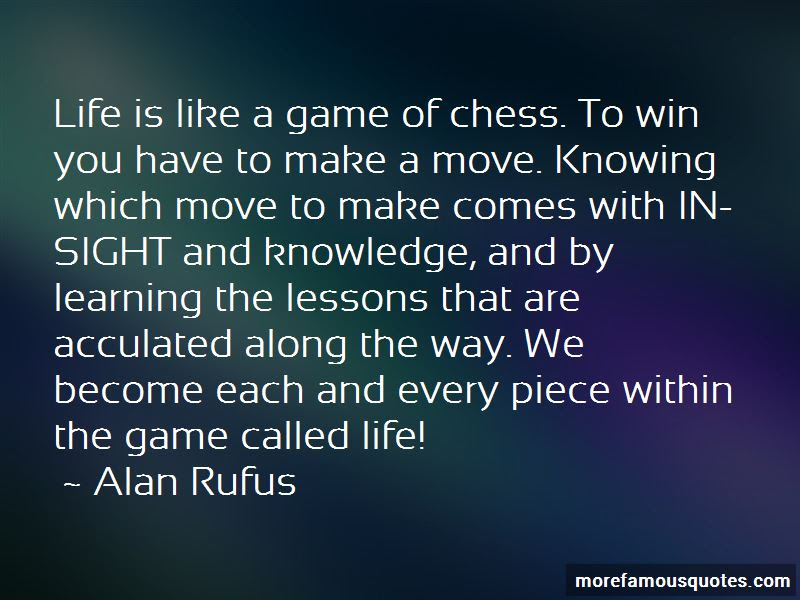 Life Is Like A Game Of Chess Quotes Top 12 Quotes About Life Is