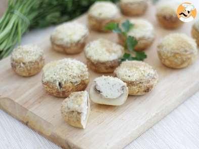 Champiñones aperitivo rellenos de queso, Foto 3