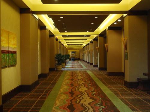 resort hallway