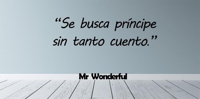 Frases Bonitas Mr Wonderful Amistad Klewer Y