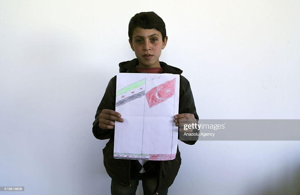 Image result for painting of syria's children in turkey's hatay