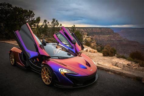 CJ Wilson's McLaren P1 Stuns at the Grand Canyon GTspirit