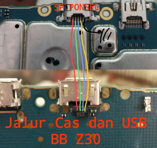 BlackBerry Z30 Usb Charging Problem Solution Jumper Ways