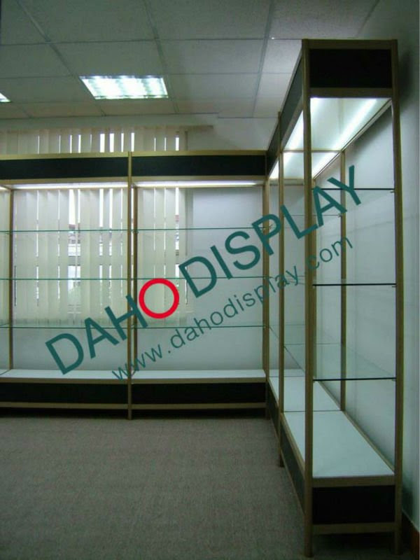 Design Aluminium Glass Showcase For Showroom,Supermarket ...