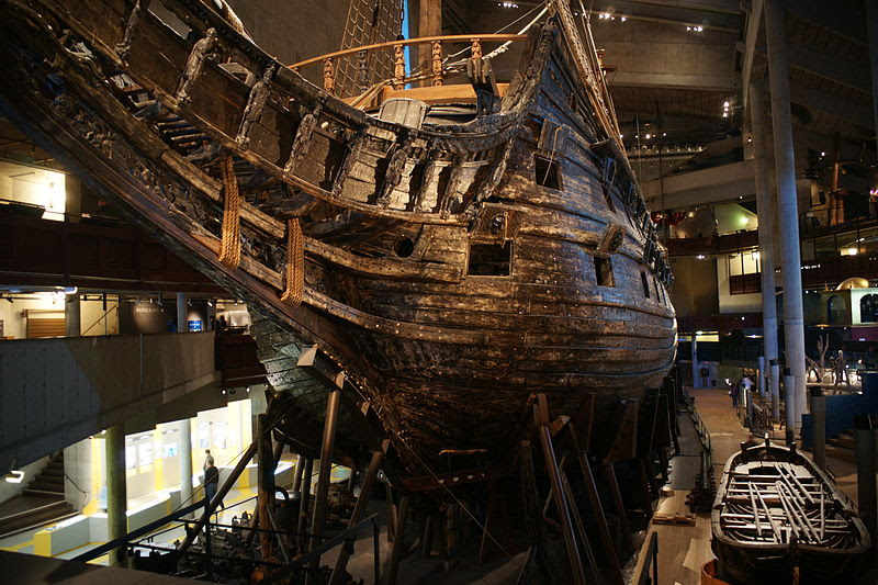 File:The Vasa from the Bow.jpg
