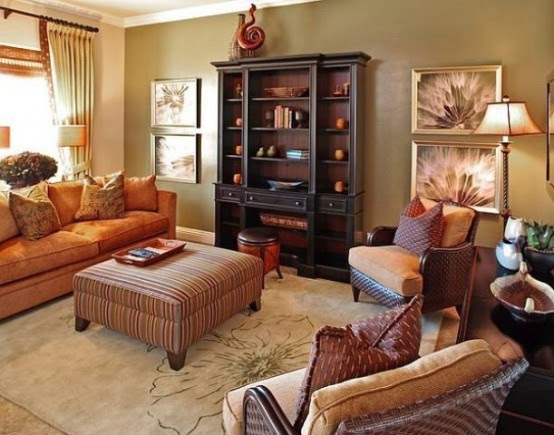 29 Cozy And Inviting Fall Living Room Décor Ideas - DigsDigs