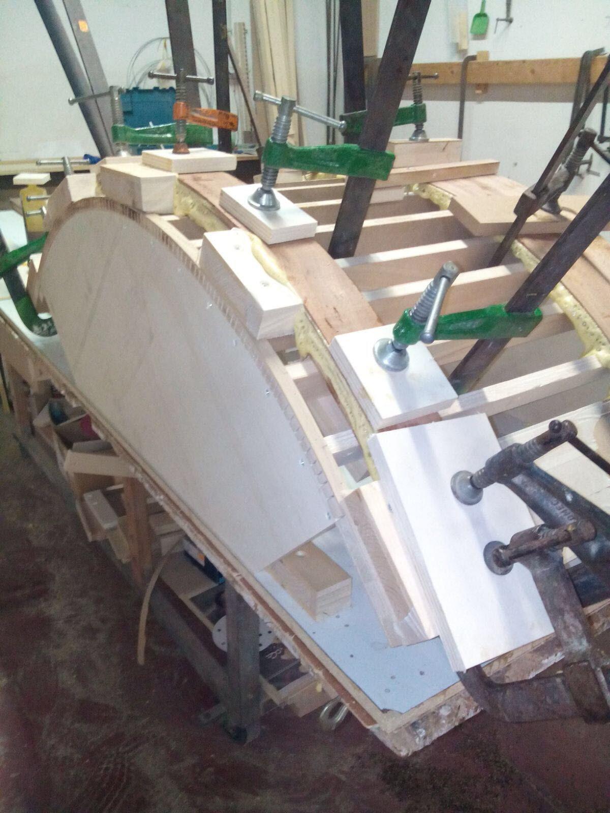 arredamenti in legno curvato