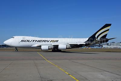 Southern Air (2nd) Boeing 747-4EVF ER N558CL (msn 35171) AMS (Ton Jochems). Image: 911601.