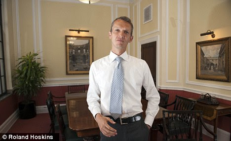 Moral: The Occupy movement performed a valuable service in its protests about the economic crisis, according to Bank of England director Andy Haldane