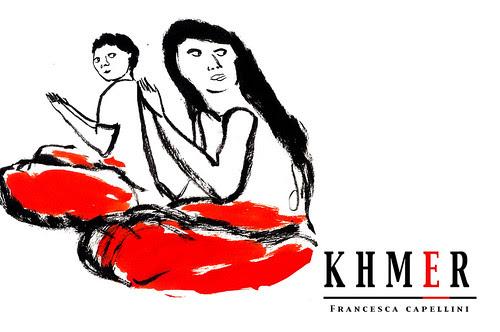 Khmer, Exhibition of Francesca CApellini by la casa a pois