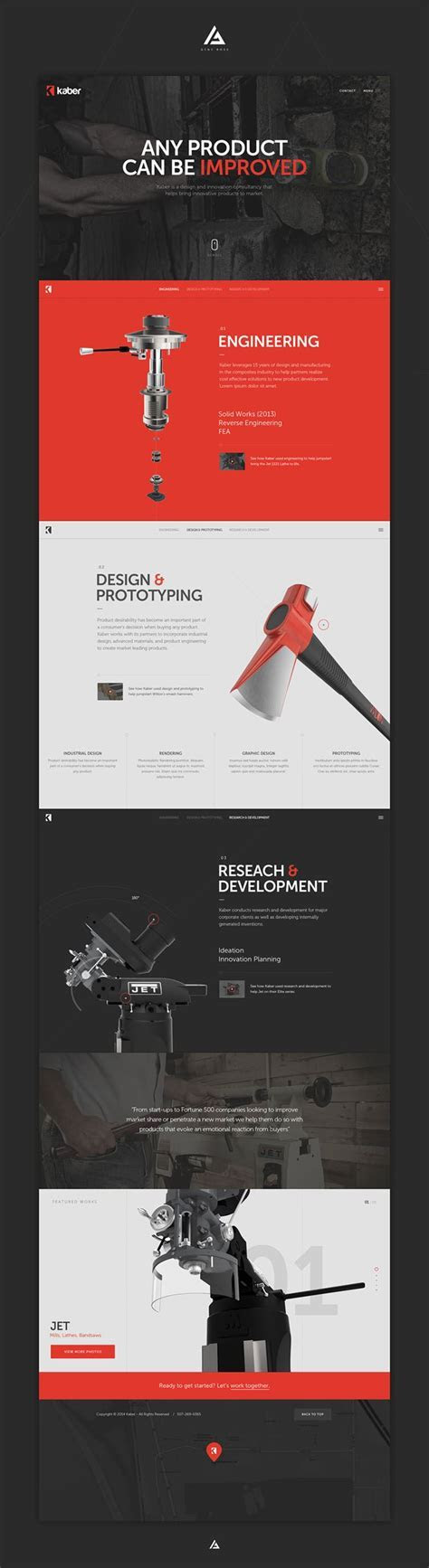 Creative Clean Web Design for Inspiration 2015