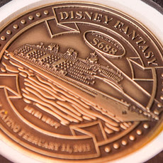 The Disney Fantasy of Disney Cruise Line.