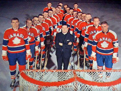 1964 Canada Olympic Team photo 1964 Canada Father Bauer Olympic Team.jpg