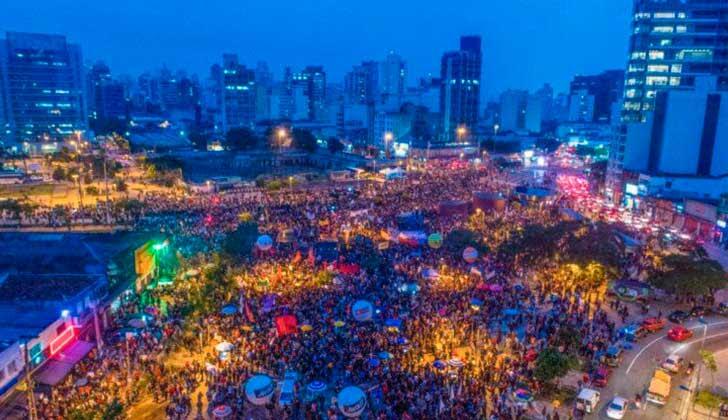 """Rousseff sobre la huelga general:  """"Es símbolo de coraje. Es un momento de esperanza y resistencia"""". Foto: Prensa PT"""