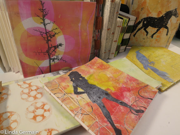 make books with your pile of gelatin prints