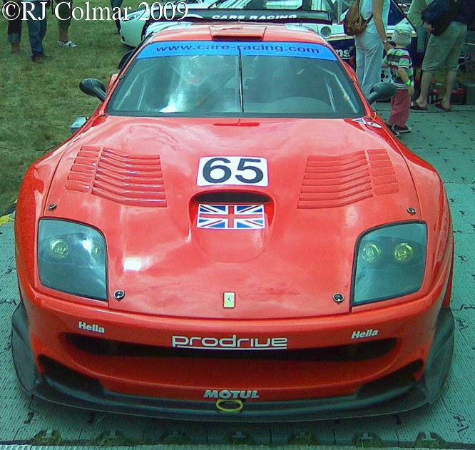 Ferrari 550 Maranello GTS, Goodwood Festival of Speed