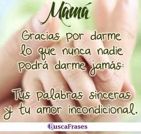 Frases De Agradecimiento A Una Madre Buscalogratis Es