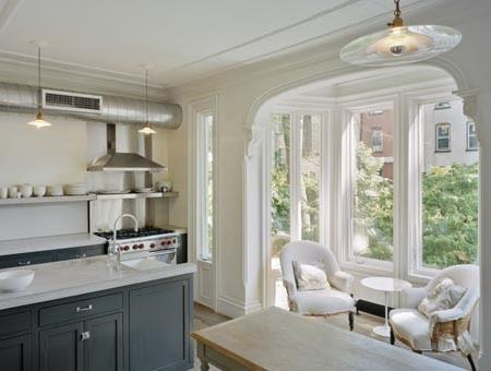 Levenson McDavid Architects eclectic kitchen