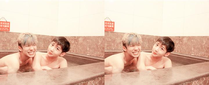 typicalben randy at taipei hot spring (wen quan)