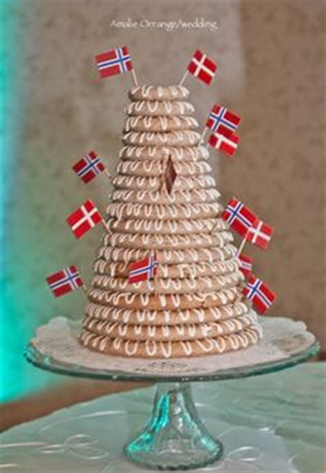 Traditional Danish Kransekage ? Marzipan Cakes and Cookies