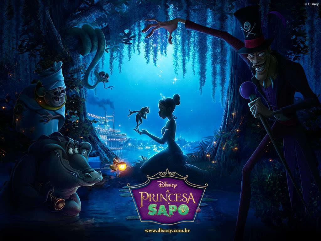 The Princess And The Frog The Princess And The Frog Wallpaper