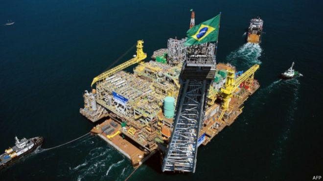 Plataforma da Petrobras (AFP)
