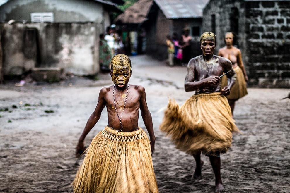 Плем'я в Західній Африці