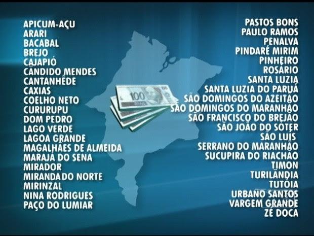 Lista das prefeituras do Maranhão