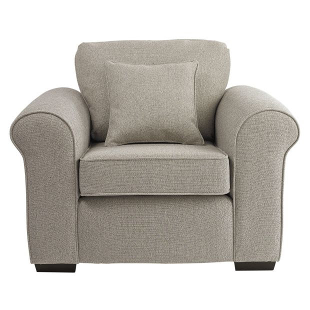 Buy Collection Erinne Fabric Chair - Linen at Argos.co.uk ...