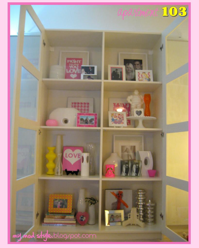apartment103 living room4 bookcase