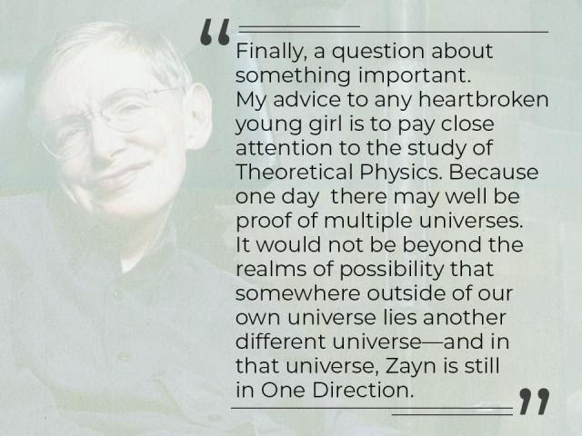 Look Up At The Stars And More Quotes From Stephen Hawkings