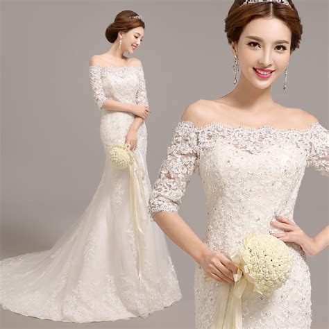 popular fish tail wedding dress buy cheap fish tail