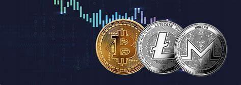 Grafik Harga Crypto Sperti BitCoint dan Coin Lainnya Sedang Turun |