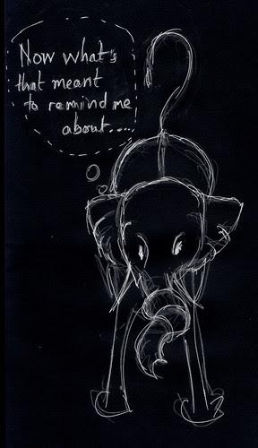 Illustration Friday - Forgotten
