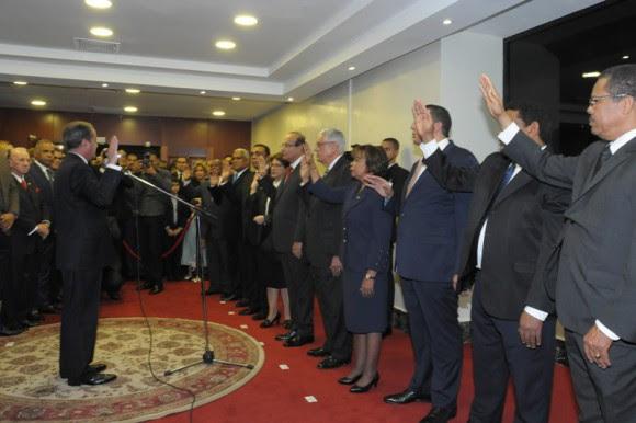 El Senado juramentó los nuevos miembros Junta Central Electoral