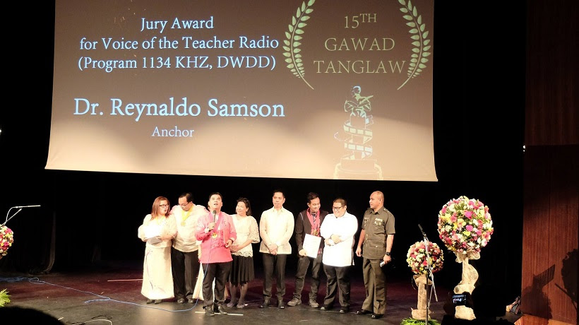 Voice of the Teachers Receives Special Jury Award at the 15th Gawad Tanglaw