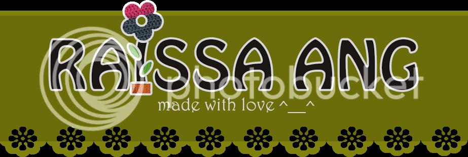 Raissa Ang | specialist rajutan | ready stock bros rajut