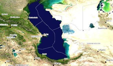 Resultado de imagen de mar caspio