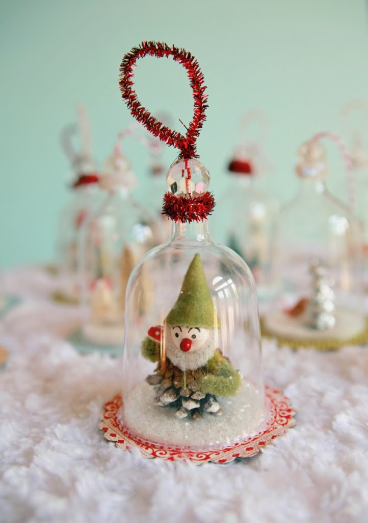 IMG 5423 847x1200 722x1024 DIY Vintage Inspired Bell Jar Ornaments